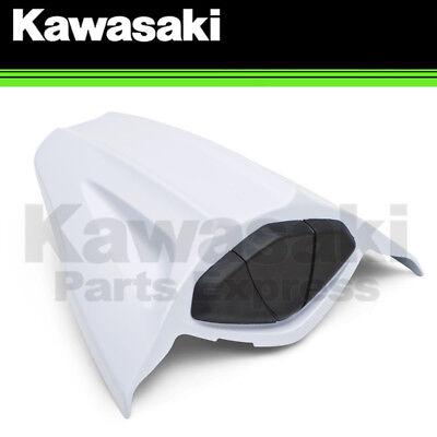 GENUINE KAWASAKI STARDUST WHITE REAR SEAT COWL 2013 NINJA ZX-10R 99994-0320-40X