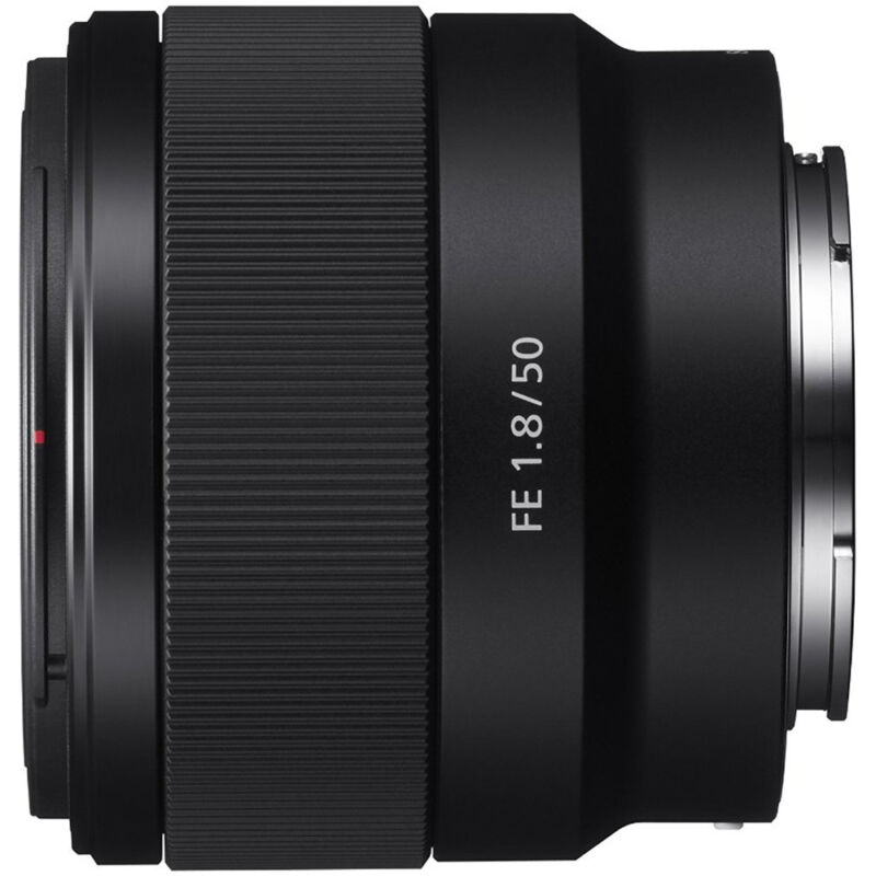 Sony FE 50mm f/1.8 Prime Lens for Sony Alpha E-mount Cameras SEL50F18F