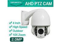 cctv cameras ptz cameras wholesale hd/ahd 4inch and 7inch price from £150