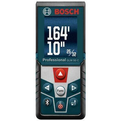 "Bosch GLM 50 CX ""Blaze"", 165' Bluetooth Laser Distance Measurer w/ Bluetooth"