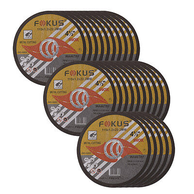 25 Pack Ultra Thin Disc 4-1/2'' x 0.045'' Metal & Stainless Steel Cut Off Wheel