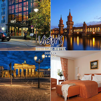 Berlin - LUXUS Kurzurlaub im TOP 4* Victor's Residenz-Hotel in der Juniorsuite - Junioren Top