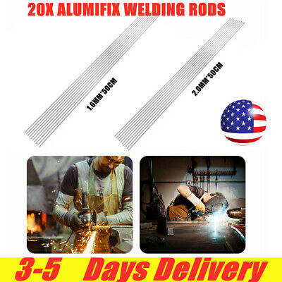 Solution Welding Flux-cored Rods 20pcs Aluminum 1.62500mm Wire Brazing Welding