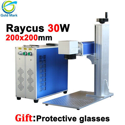 30w Raycus Fiber Laser Marking Machine With Rotary Device And Dhl Shipping Cost