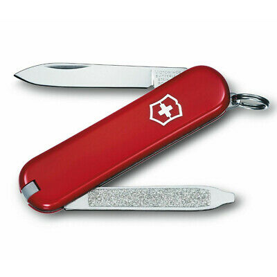 Victorinox Swiss Army Knife Classic Red Vintage Escort - 6 Functions
