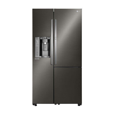 LG LSXS26366D 26.1CF Side-by-Side Refrigerator Black stainless steel