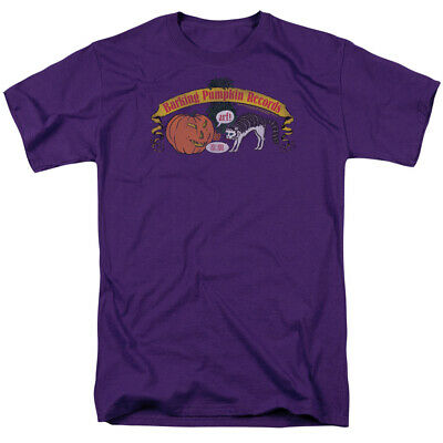 Frank Zappa Barking Pumpkin Purple Officially Licensed Adult T-Shirt - Purple Pumpkin