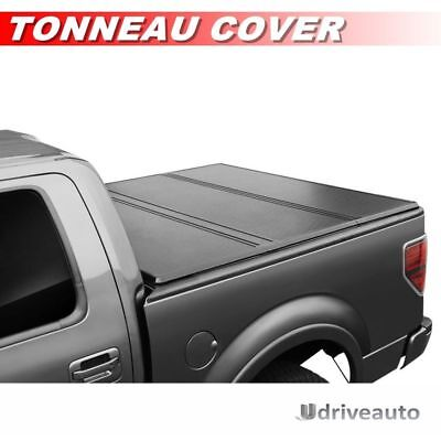 Tri-Fold Hard Solid Tonneau Cover For 2004-2018 Ford F-150 With 5.5ft / 66in Bed
