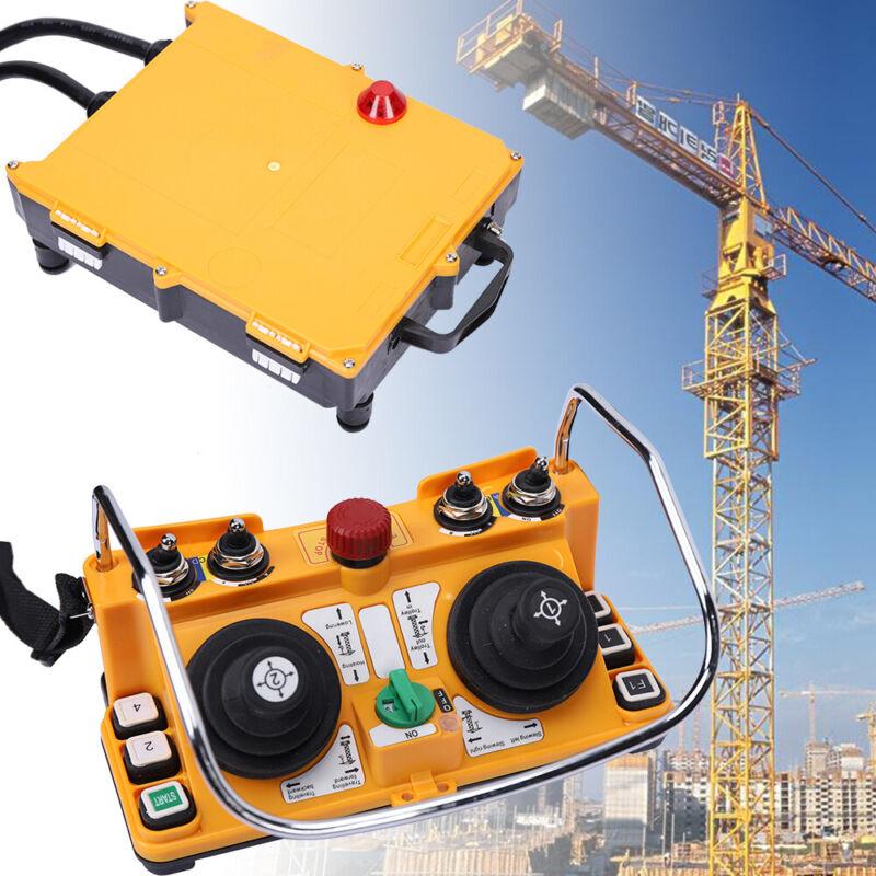 DC 24V Industria Joystick Crane Remote Control Wireless Transmitter Receiver USA