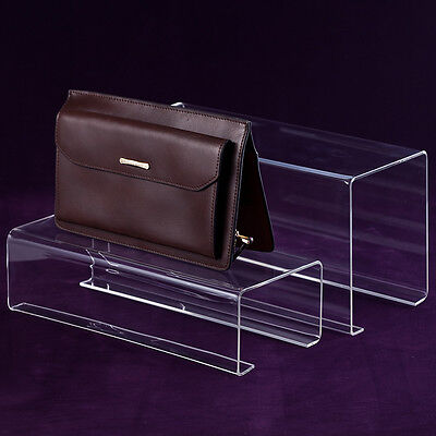 Fashion Clear Acrylic Handbag Rack Displays Stand for Boutique 118''47''59''