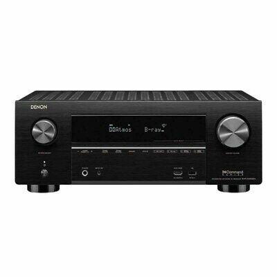 Denon AVR-X3500H Black 7.2 Channel 4K A/V Receiver with 3D Audio HEOS and Amazon