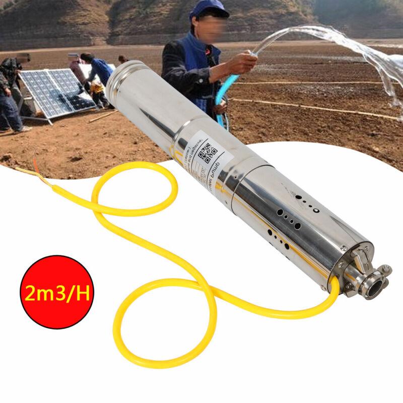 High Pressure Deep Well Submersible Pump Solar DC Screw Water Pump 12V/18V 2m³/h