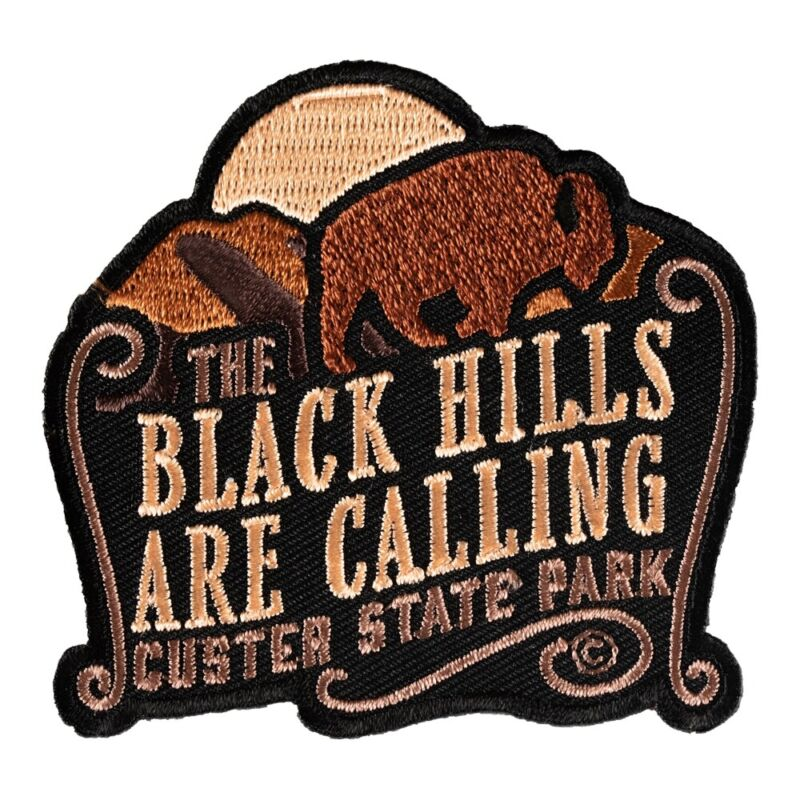 The Black Hills Are Calling Custer Patch, South Dakota Patches