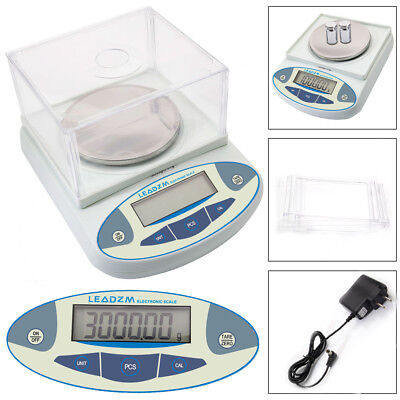 3000g X 0.01g Digital Lab Analytical Balance Scale Jewelry Precision Weighing