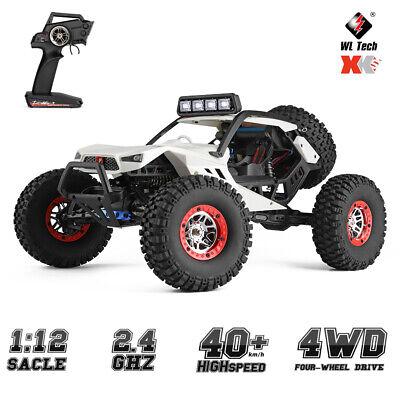 US WLtoys XK 12429 1:12 4WD 2.4G RC Car Crawler 40km/h Electric Off-Road Car Toy