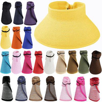Cute Blue Summer Golf Tennis Sun Hats Caps UV Protection Travel Cheap - Cheap Visor Hats