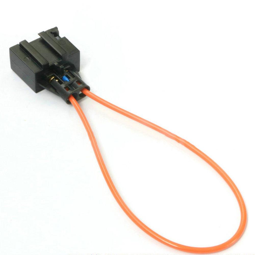 1x MOST fiber optic optical loop bypass female for MERCEDES BMW AUDI PORSCH NEW