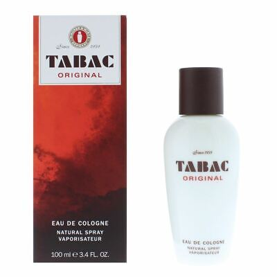 Usado, Tabac Original Eau de Cologne Natural Spray 100ml For Him - Men's NEW. segunda mano  Embacar hacia Spain