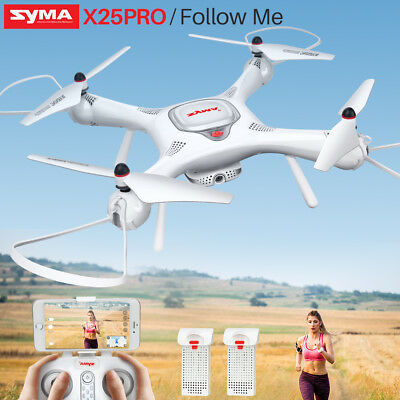 Follow Me SYMA X25PRO RC Drone Quadcopter GPS WIFI FPV Camera Support VR Glasses