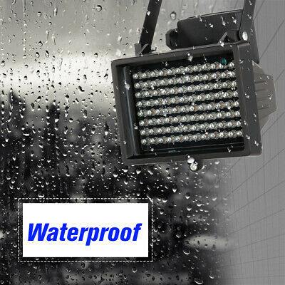 Array IR illuminator Infrared Lamp Outdoor Waterproof f CCTV Camera 96 LEDS T4N7