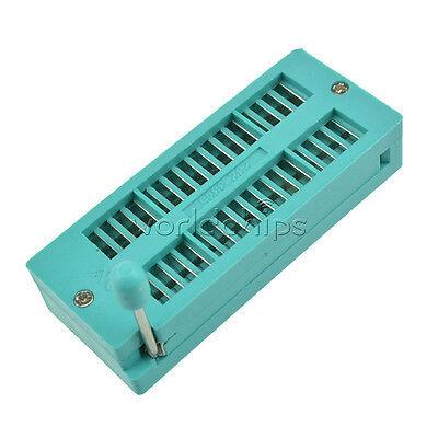 2pcs 3m Ic 32p 32pin Universal Zif Dip Test Tester Socket 2.54mm Narrow-body