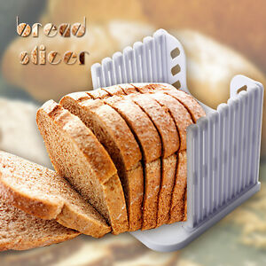 Toast folding Cutter Bread Loaf Kitchen Cutting Guide Mold Maker Slicer Slicing