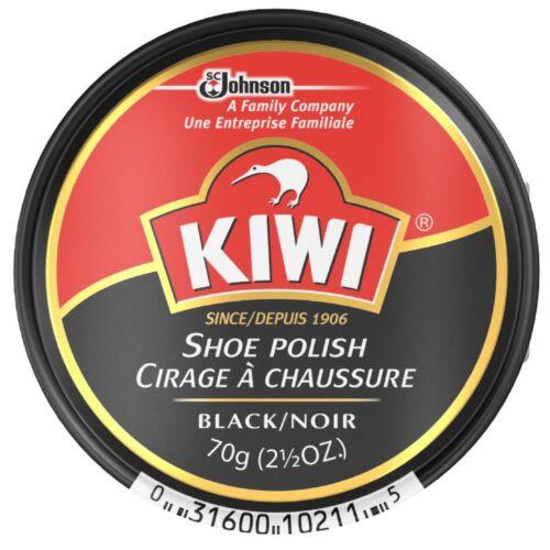 KIWI Shoe Polish, Black 2.50 oz