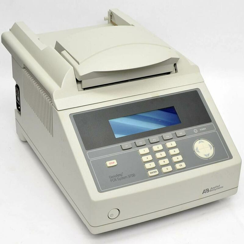 Applied Biosystems ABI GeneAmp PCR System 9700 N8050200 2x96-Well Thermal Cycler