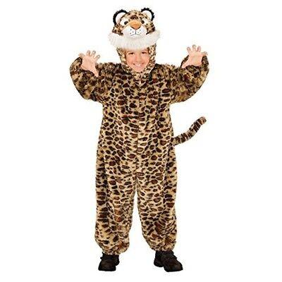 - 1 Bis 2 Jahre / Kleinkind-kleinkind - Plush Leopard Mask Jumpsuit Dressing Up
