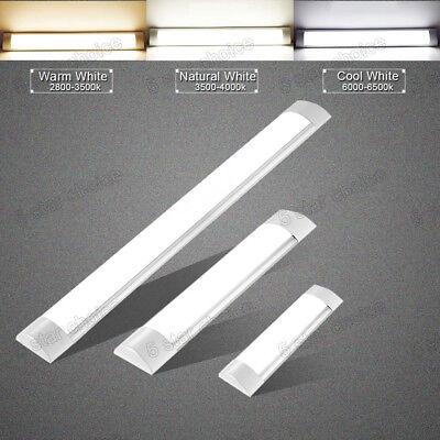 1FT 2FT 3FT 4FT LED Linear Batten Tube Light Ceiling Mount Lamp Office Fixture  (Office Led)