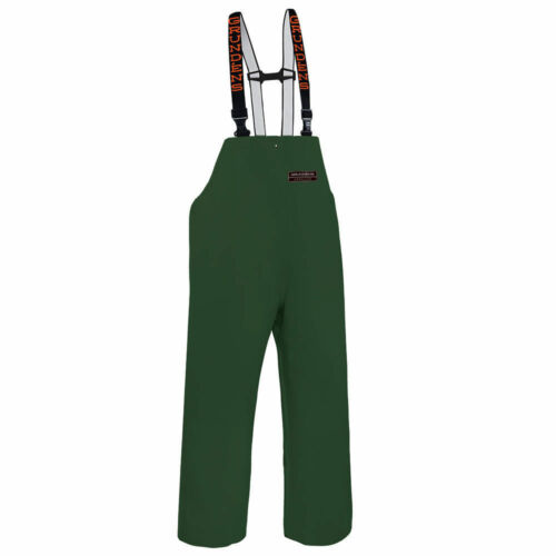 Grundens Herkules 16 All Weather Bib Pant Trousers - GREEN - Select Size