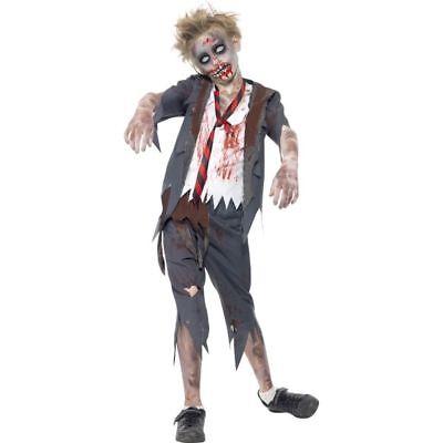 Smi - Halloween Kinder Kostüm Zombie - Schule Jungen Halloween Kostüm