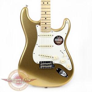 Brand New Fender FSR American Standard Stratocaster Mystic Aztec Gold Strat