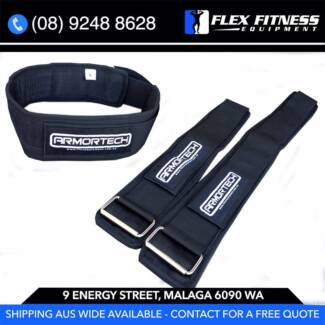 NEW V2 Nylon Weight Lifting Belt, Durable - Strong Supports Back