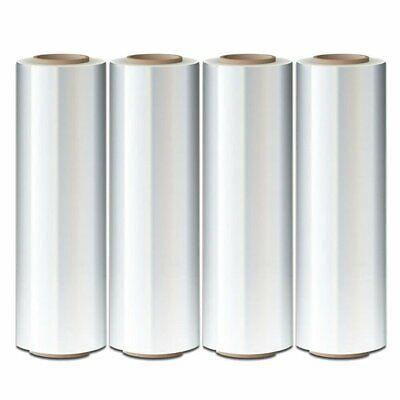 4 Rolls Hand Stretch Plastic Film Shrink Pallet Wrap 18 X 1500 Ft Heavy Duty Us
