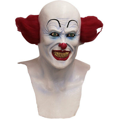 Adult Scary Clown IT Costume Mask