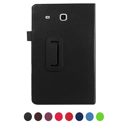 High Quality Faux Leather Stand Flip Case Cover For Samsung Galaxy Tab E T560