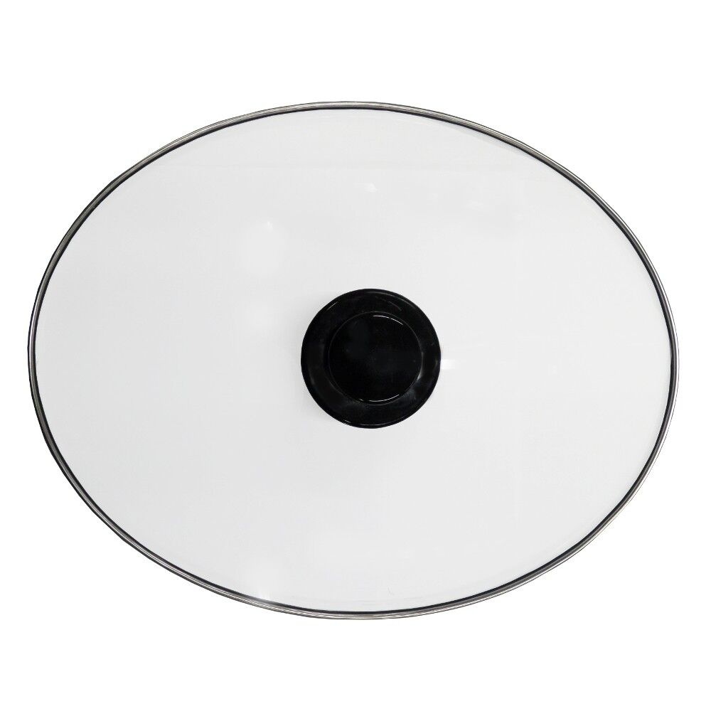 Hamilton Beach Slow Cooker Lid Oval Glass 33167 6 qt