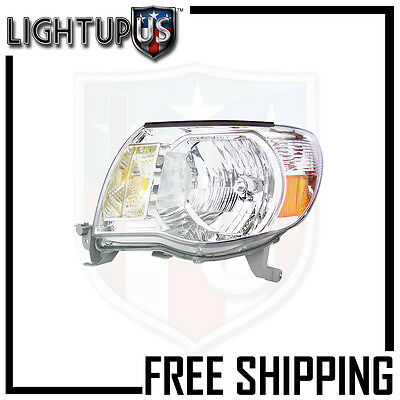 Headlights Headlamps Left Only for 05-11 Toyota Tacoma