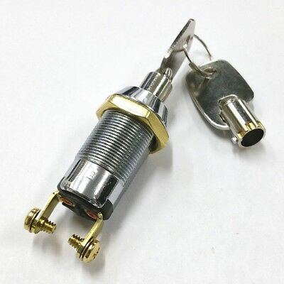 New Philmore 30-10078b Spst On Or Off Position Tubular Barrel Type Key Switch