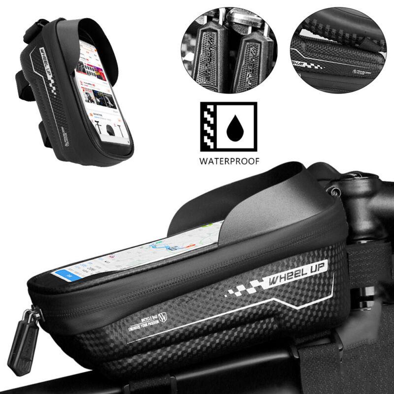 Fahrrad Rahmentasche Fahrradtasche Handyhalter Wasserdich Für Handy bis 6.5 Zoll