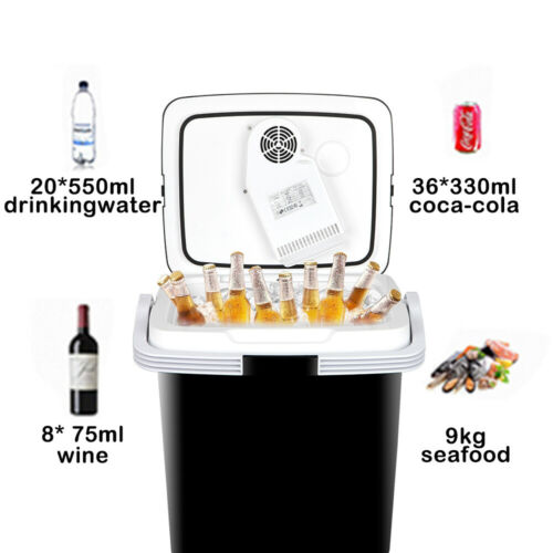 Truck Freezer Food Drinks 12V Portable Car Iceless Thermoelectric Cooler Warmer Camping & Hiking