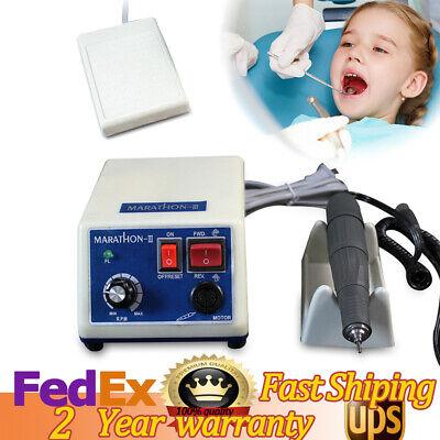 Dental Lab Electric Marathon Motor Micromotor Machine N3 35k Rpm Handpiece Usa