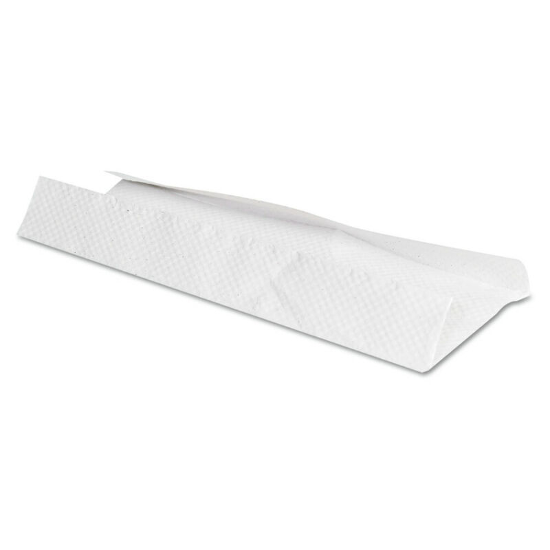 General Supply 1510 12-Pc. 200-Sheet C-Fold 10.13 x 11 Towels - White New