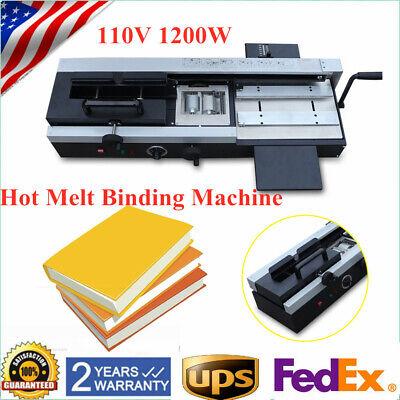 Pro A4 Book Binding Machine Wireless Desktop Hot Glue Book Plastic Binding