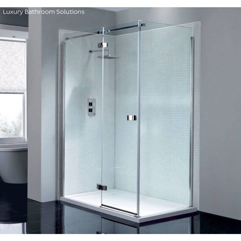 Brand New April Prestige2 Frameless Shower Door 1400 Mm Wide Right