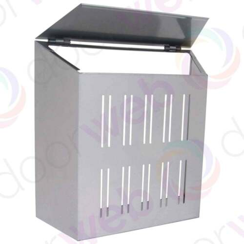 sterling letter box cage steel front door post mail With letter box cage