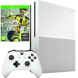 Xbox One S 500GB with FIFA 17 Bundle, NEW, Sealed In Box