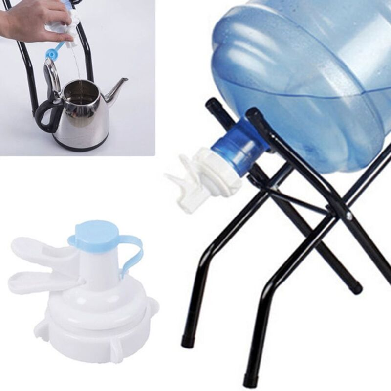 5 Gallon Manual Water Bottle Jug Hand Pump Dispenser Camping
