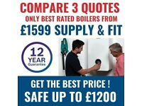 High-Quality Boilers / Boiler Installation Worcester Bosch & Vaillant Heating Engineer Gas Safe